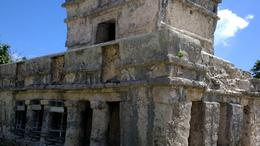 Tulum archeological building , Wilfred M - December 2016