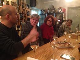Tiago, explaining the secrets of Portugese food , Tanya V - January 2017