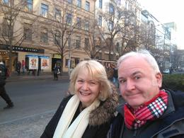 selfie in centre of prague , Joemugg - February 2017
