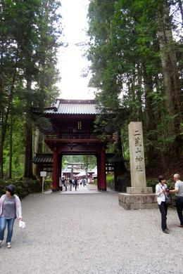 Entrance to Toshogu Shrine , Sandra D - June 2017