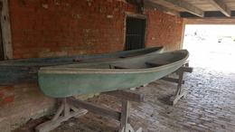 boats at the Laura Plantation , Brian M - July 2017