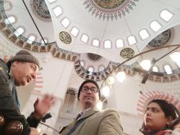 Briefing of Naci at Süleymaniye Mosque , Bakhteyer - November 2017