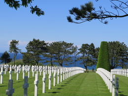 Visit to the American Cemetery in Normandy. , Ryan G - June 2014