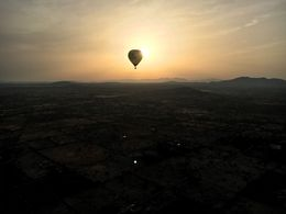 Ballooning at Sunset , Justin M - July 2016
