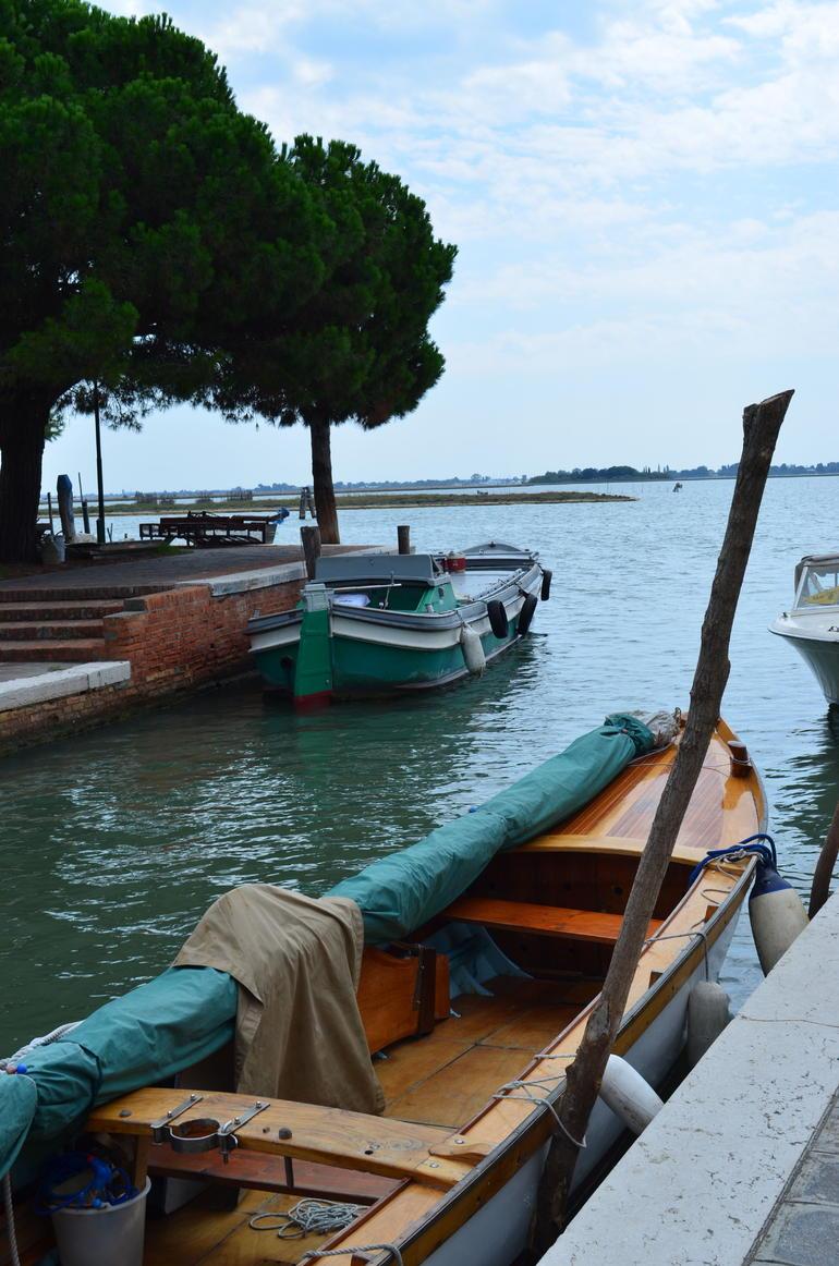 Boat near landing site - Venice
