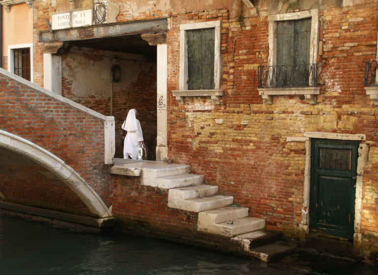 canal scene - Venice