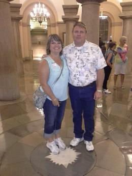 Touring the capitol, my husband and I. , trip - July 2014