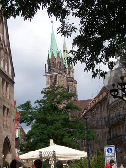 The medieval portions of the town that remain are beautiful. - August 2010