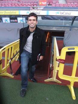 Inside the stadium!, Fernando Camarate Santos - February 2013