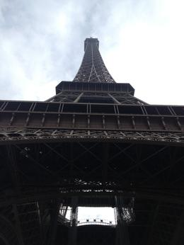 Standing at the foot of the Tower. Completely impressive and wonderful! , Heather G - November 2012