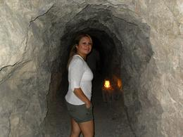 "Me and the hubby on a long spooky walk inside the gold mine....must experience!...""Sorry but i did not find any ""Gold, Maricel L G - August 2010"