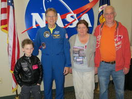 A thrill not to be missed. Hearing about actual experience in space life time opportunity. , Ian R - November 2012