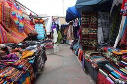 Walking through the market, Bandit - October 2013
