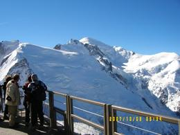 View from L'Aiguille du Midi., Derek T - October 2007