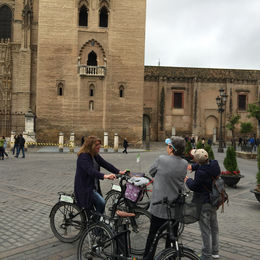 By the Seville Cathedral. , Charles U - March 2015