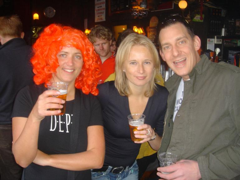 Queensday surrounded by happy people all day -