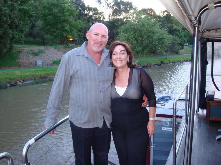 Rhonda And Wayne above restaurant - Melbourne