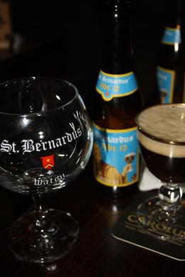 Another fantastic choice. I need to find this one here in the states. I'd be interested in tasting this side by side with the Westmalle to see which I actually prefer. , Mark K - November 2012