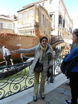 Guide describing the water levels in Venice , Mr Stephen J F - March 2013