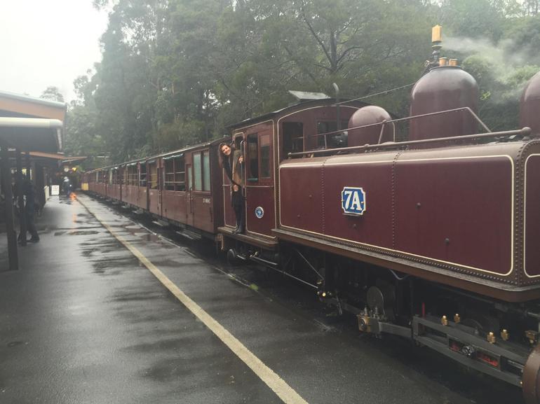 Train departing!