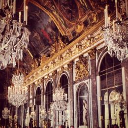 Hall of Mirrors in Versailles, Ryan & Asha - April 2013