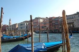 View of Venice and its canal - November 2008