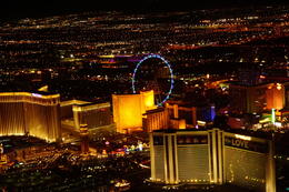 Vegas from the sky with 5 star helicopters. , Frank B - October 2016