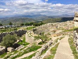 Mycenae Archeological Ruins , The Johnsons - April 2017