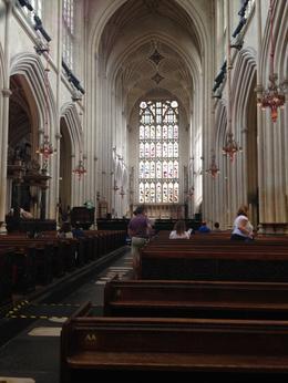 Inside Bath Abbey , Arlene B - July 2017