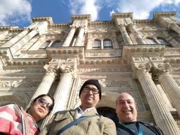 At Dolmabahce Palace , Bakhteyer - November 2017
