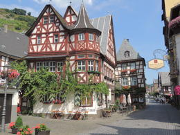 Bacharach is a beautiful town on the Rhine and a great place to stop for lunch , Kevin F - August 2013