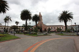 Church in the town of Otavalo, Bandit - October 2013