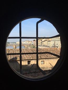 View from Vasari Corridor, dangia - October 2016