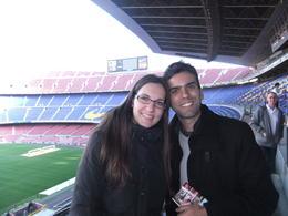 Even empty, the stadium is truly special, Fernando Camarate Santos - February 2013