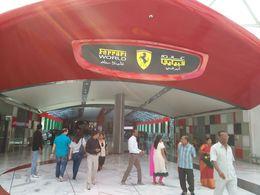 good theme park for everyone entry, Ferrari world. , KIM FEI H - January 2016