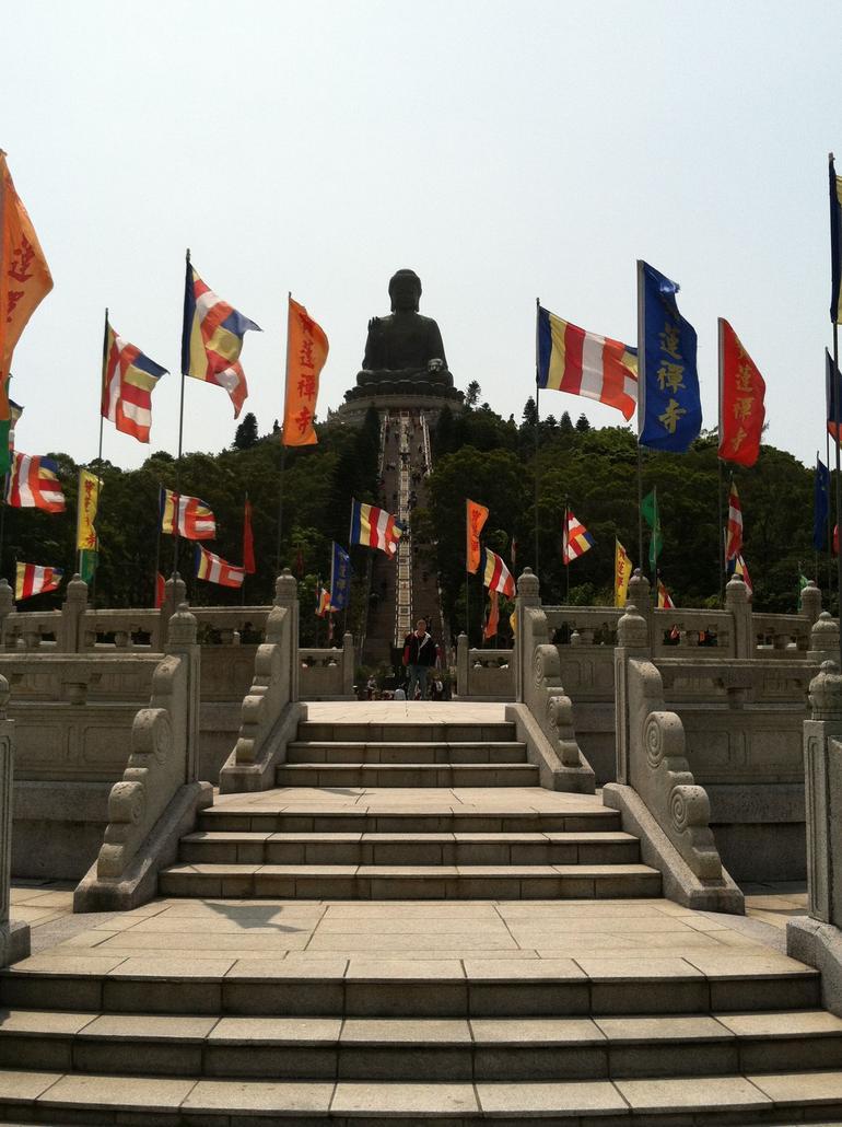 Giant Buddha - Lantau Island - Hong Kong