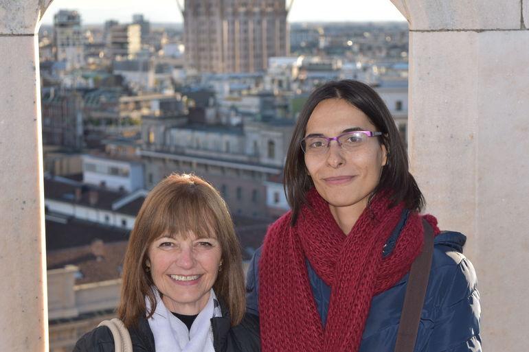 Guiolanda with Katia