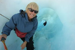 Entrance to the ice cave - Jeanette McCluskey , Jeanette M - March 2012