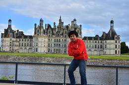 me in action at the back of Chambord. , donghenz - June 2012