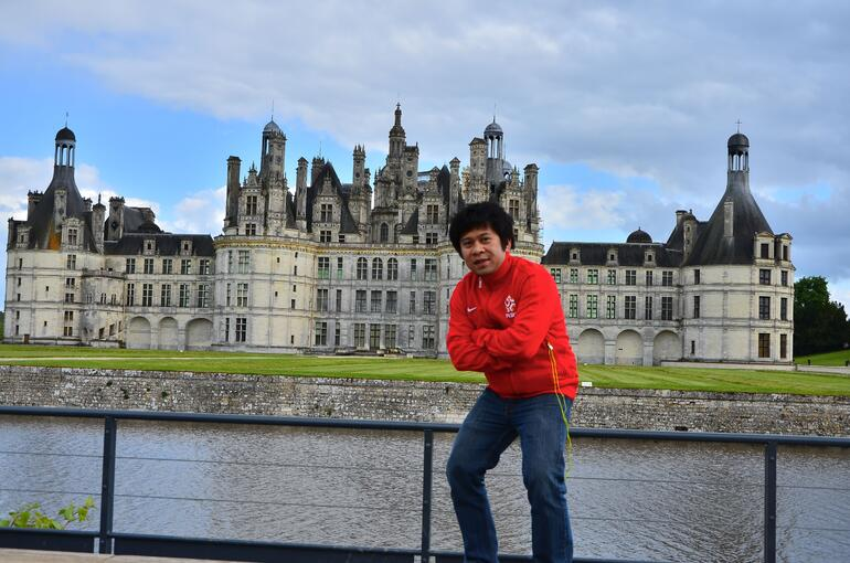 Me in Chambord - Paris
