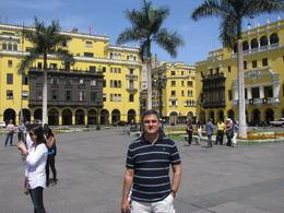 Lima- Plaza de Armas , Zeca - April 2012