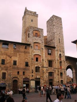 San Gimignano, Michael W - November 2008