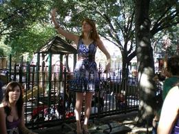 One of the gals showing us around the hotspots from SATC in NYC., Nikki D - August 2008