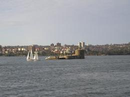 A view of Fort Dennison during the bike tour., Christine C - July 2008