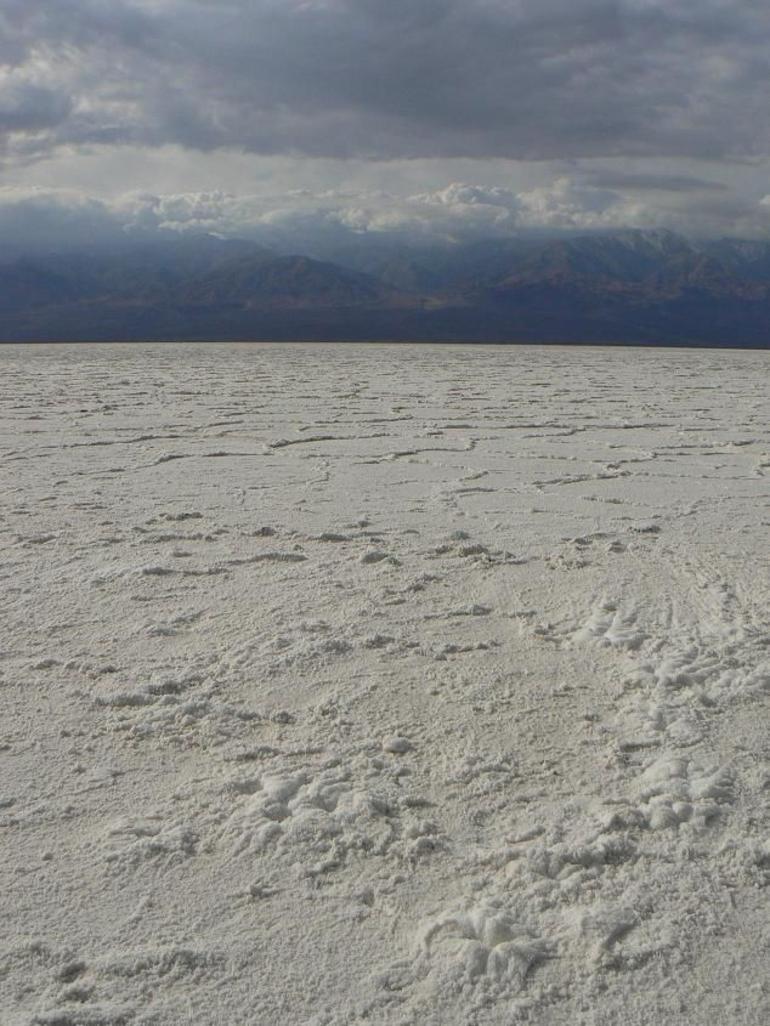 The Salt Flats Death Valley - Las Vegas