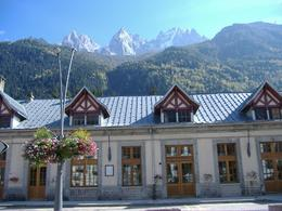 Chamonix, a quaint train station., Derek T - October 2007