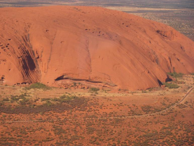 Uluru from the Air - Ayers Rock