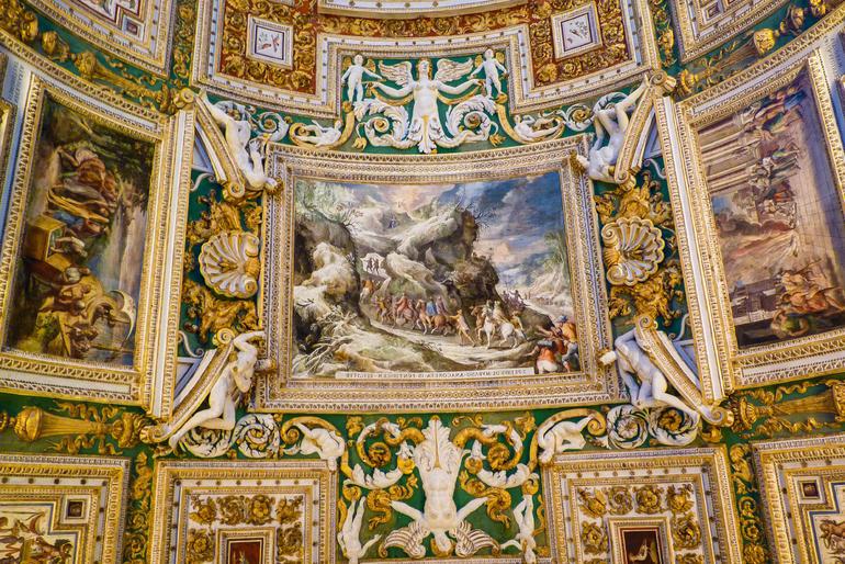 Vatican Museum Ceiling - Rome