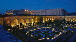 Palace of Versailles at night - July 2012