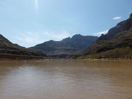 This was taken standing in the River looking towards the canyon , Brenda F - March 2014